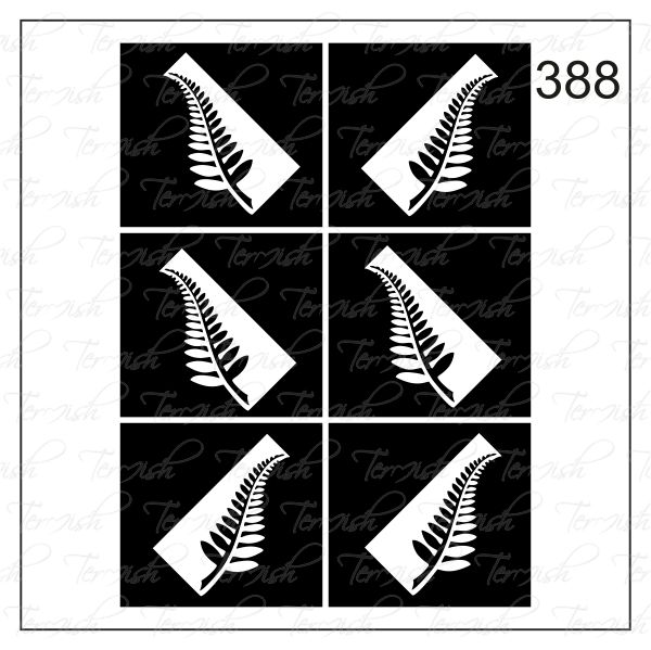 Шаблон за аерография № 388
