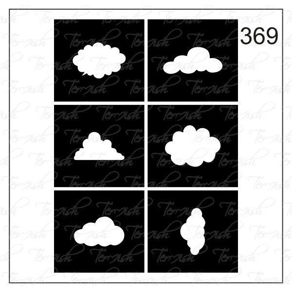 Шаблон за аерография № 369