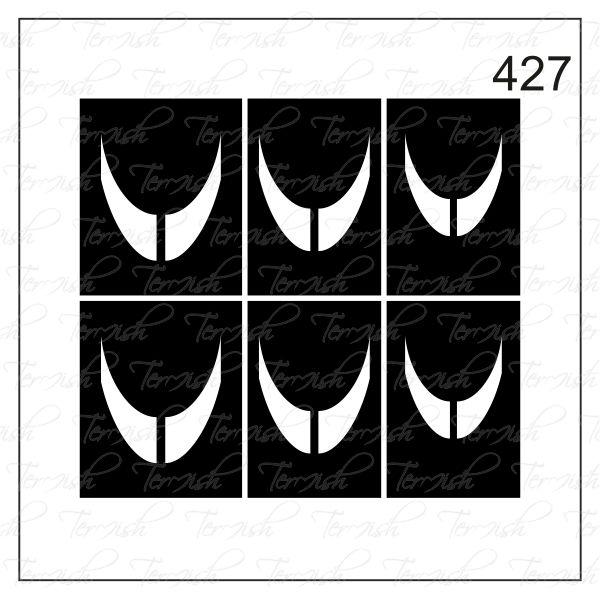 Шаблон за аерография № 427