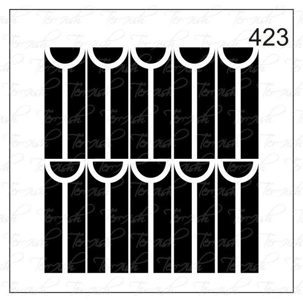 Шаблон за аерография № 423